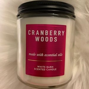Cranberry woods candle